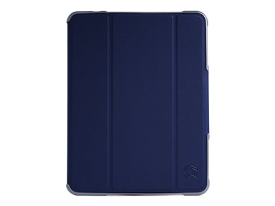 STM dux Plus Duo Flip cover for tablet polycarbonate, thermoplastic polyurethane (TPU)