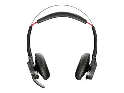Poly - Plantronics Voyager Focus UC B825 - Headset - on-ear - Bluetooth - wireless - active noise cancelling - UC Standard version