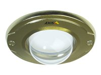 Gold-colored casing with clear dome 10pc for Axis M3011 and M3014