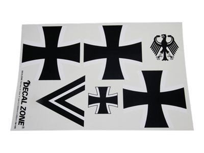 Decal Zone - Klebeset Deutsche Luftwaffe