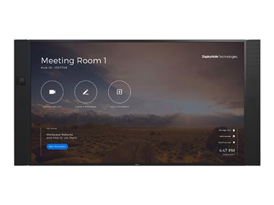 NEC InfinityBoard 2.1 75 - video conferencing kit - with NEC OPS Slot-in PC (Windows 10 Professional), Huddly IQ camera