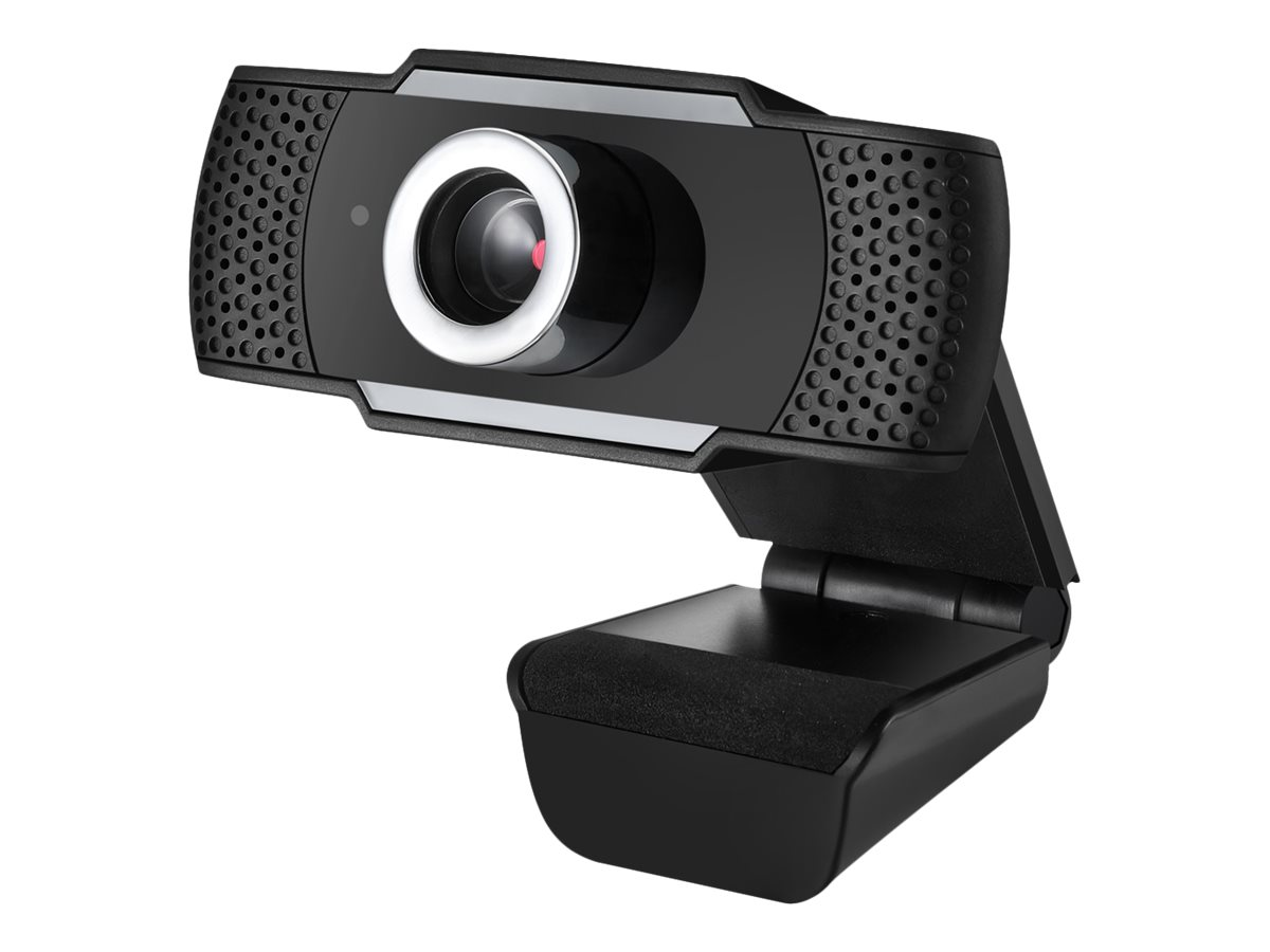 1080P (2.0 Megapixel)   Manuel Focus Webcam with build in Microphone