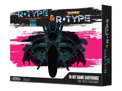 R-Type III & Super R-Type Collector's Edition - Super Nintendo Entertainment System