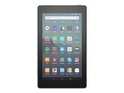Amazon Kindle Fire 7 9th generation tablet 7INCH IPS (1024 x 600) microSD slot sage