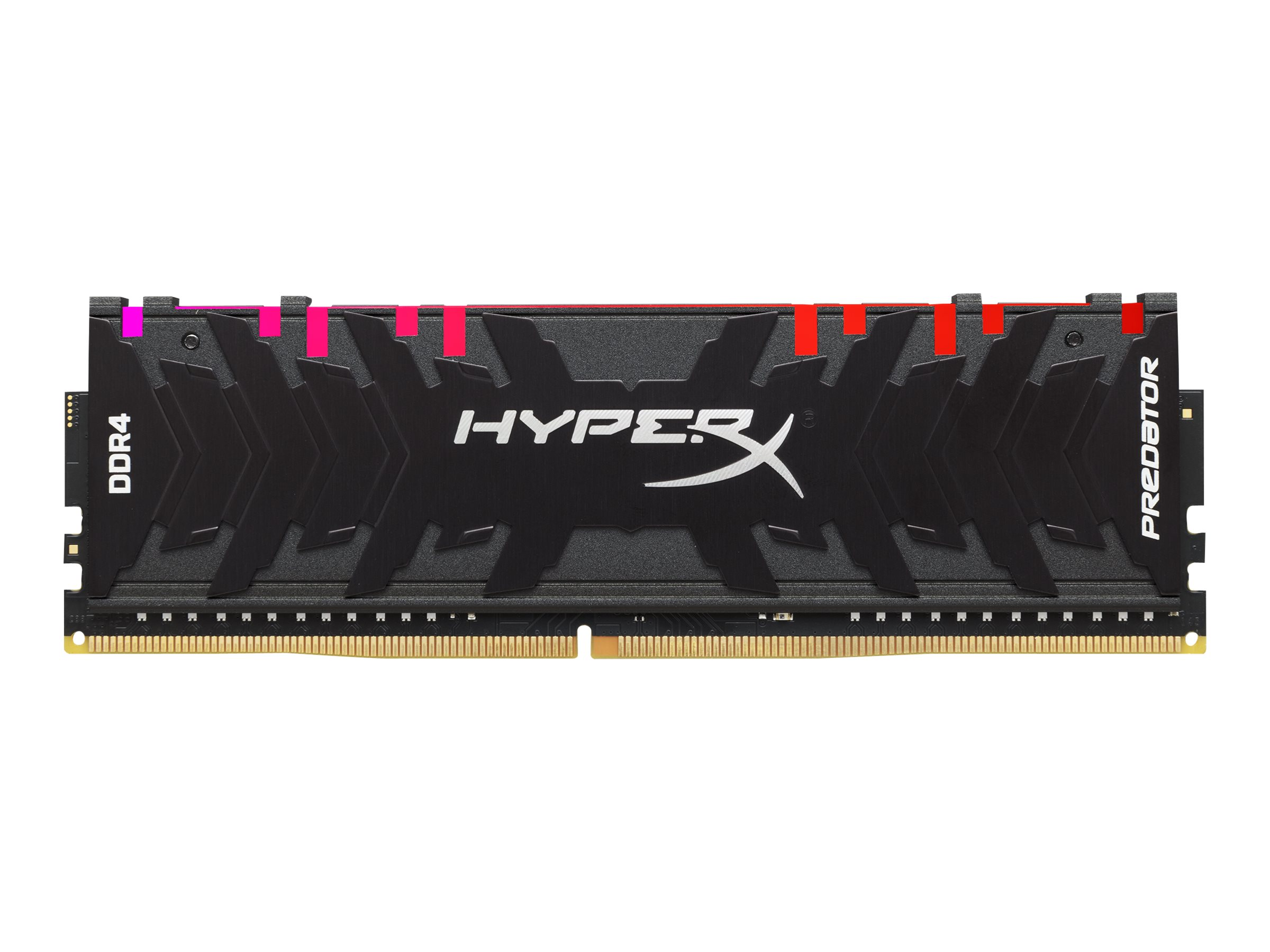 HyperX Predator RGB - DDR4 - kit - 16 GB: 2 x 8 GB - DIMM 288-pin - unbuffered