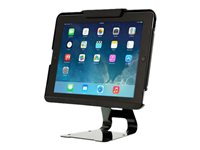 Tryten Flip Stand Stand for tablet lockable ABS plastic, powder-coated steel black