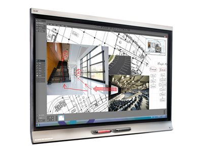 SMART Board 6075 Pro interactivedisplay with iQ 75INCH Diagonal Class LED-backlit LCD display