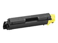 Kyocera TK 580Y - Yellow - original - toner cartridge - for ECOSYS P6021cdn, P6021cdn/KL3; FS-C5150DN, C5150DN/KL3