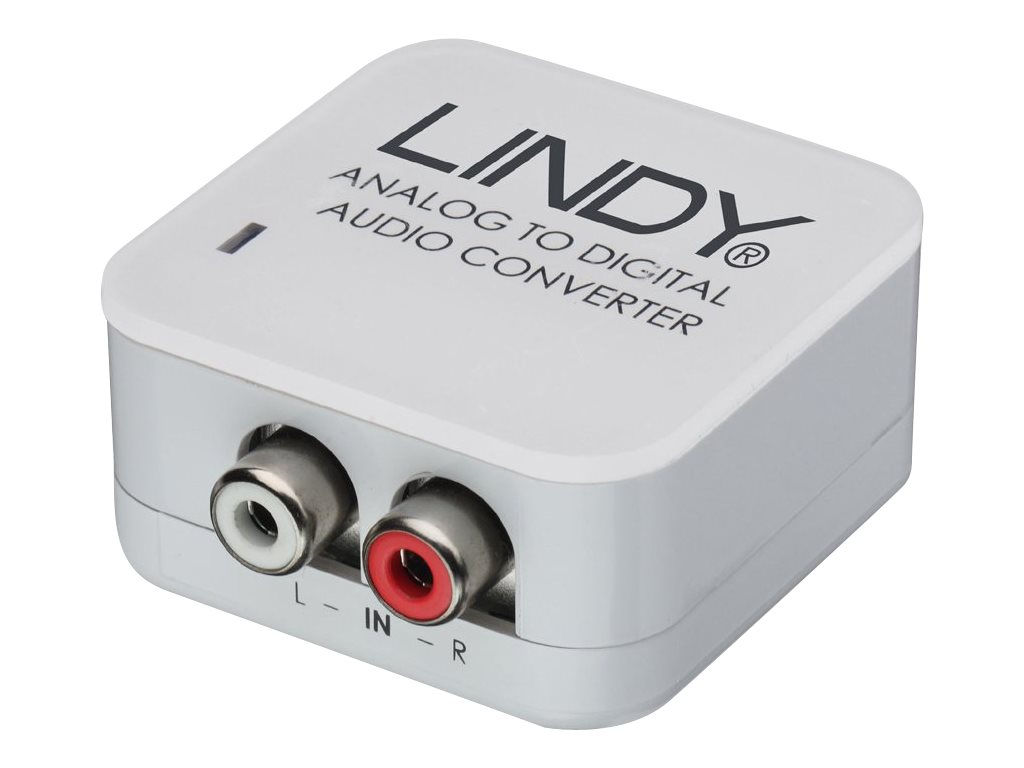 Lindy - Analog-Digital-Audiowandler