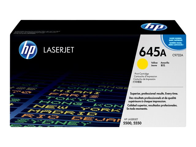 HP Color LaserJet C9732A Yellow  Print Cartridge 5500 Series