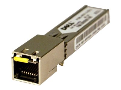 Dell - SFP (Mini-GBIC)-Transceiver-Modul - GigE - 1000Base-T - RJ-45 - für Force10; Force10 TeraScale E-Series; Networking C7008; PowerConnect 81XX