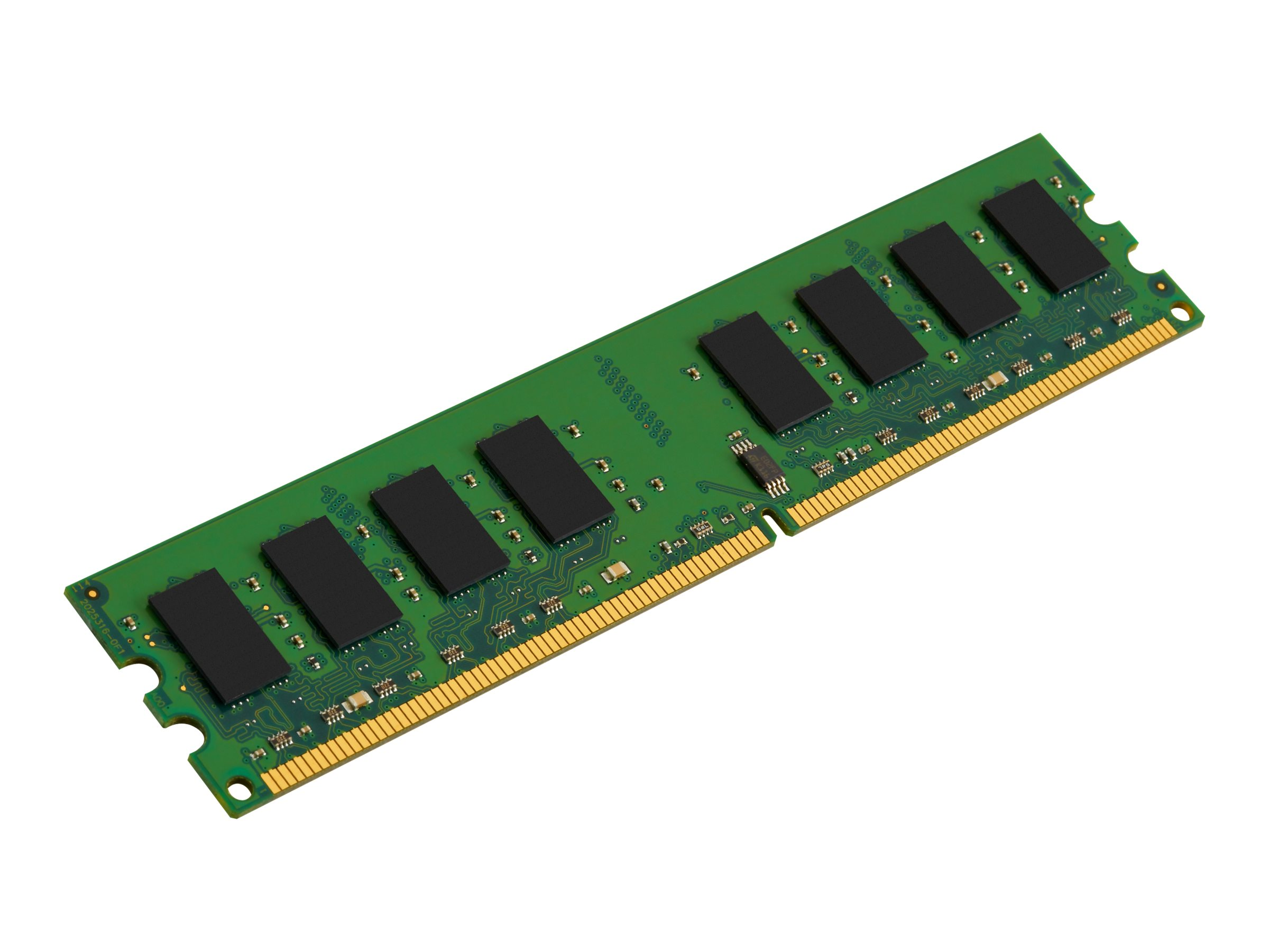 Kingston - DDR2 - 2 GB - DIMM 240-PIN - 667 MHz / PC2-5300 - ungepuffert