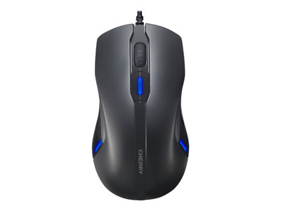 CHERRY MC 4000 Mouse right and left-handed 6 buttons wired USB black