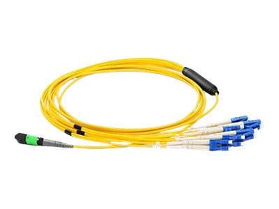 Axiom network cable - 4 m - yellow