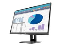 "HP VH27 - LED monitor - 27"" (27"" viewable) - 1920 x 1080 Full HD (1080p) - IPS - 250 cd/m² - 1000:1 - 5 ms - HDMI, VGA, DisplayPort - black - TAA Compliant"