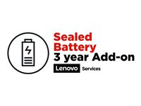 Lenovo Sealed Battery - Battery replacement (for system with 3 or 4 or 5 years depot warranty)