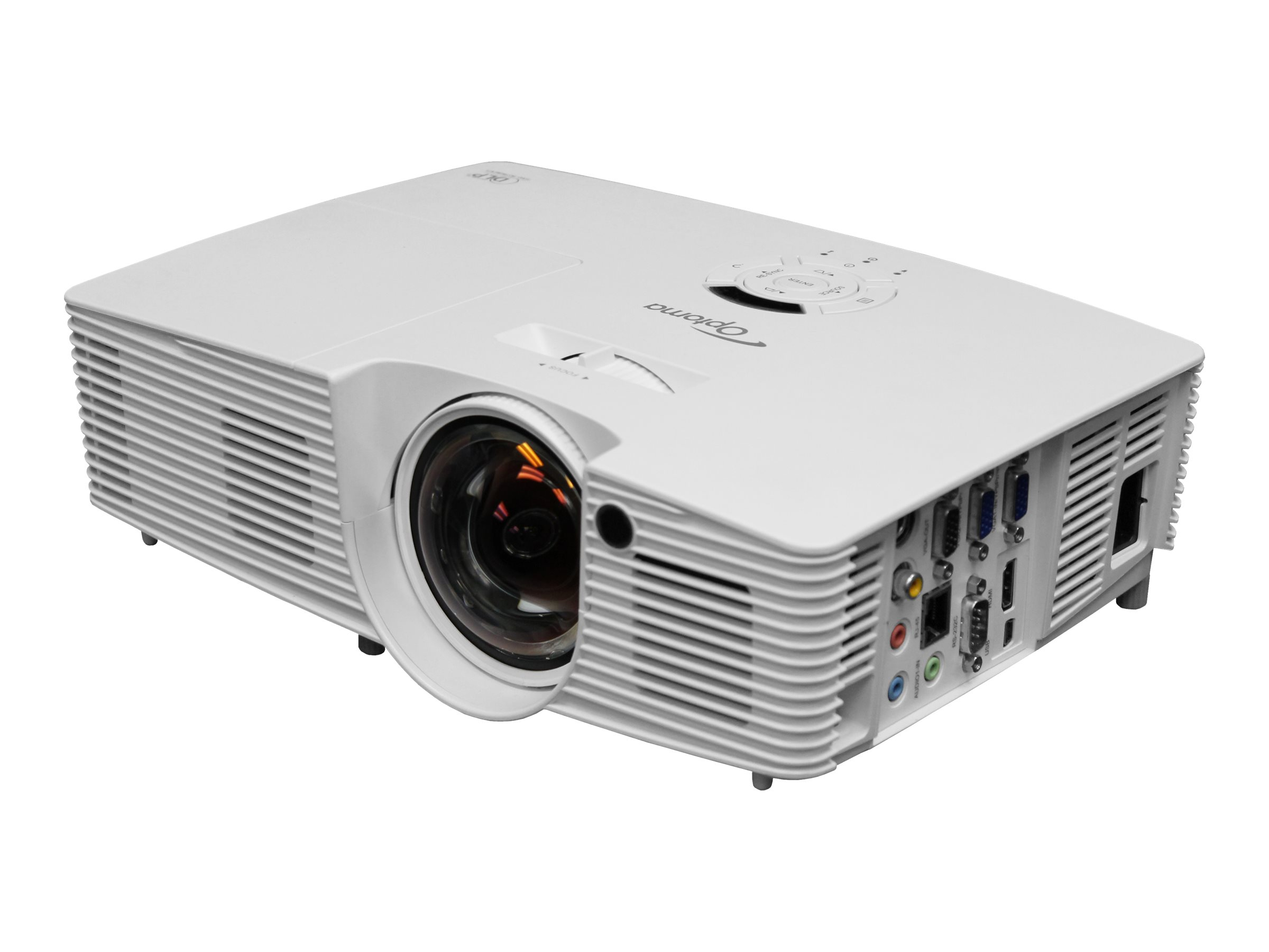 Optoma W316ST - DLP projector - short-throw - portable - 3D