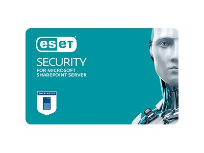 ESET Security for Microsoft SharePoint Server Subscription license (1 year) 1 seat volume