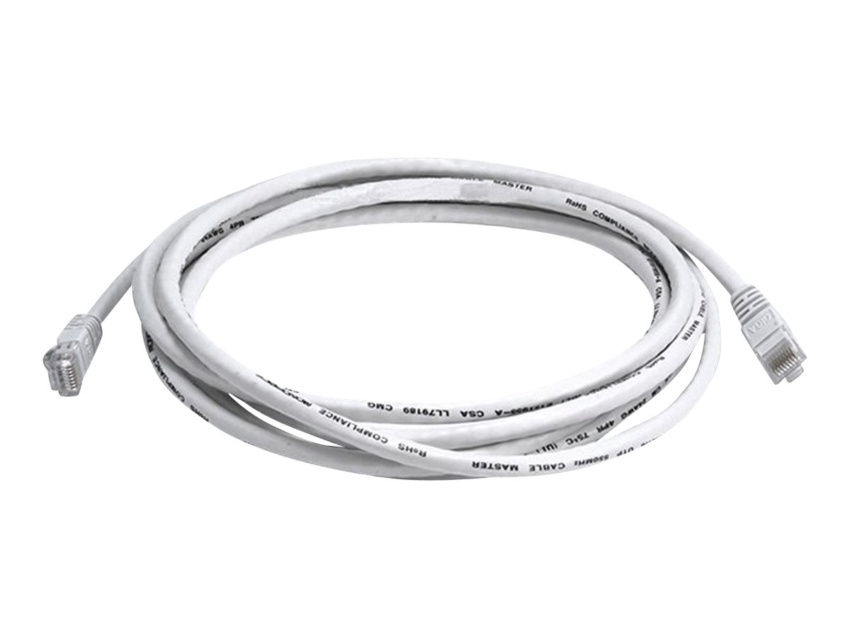 Monoprice patch cable - 3.05 m - white