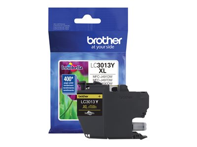 Brother LC3013Y High Yield yellow original ink cartridge