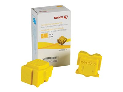 Xerox ColorQube 8580 2-pack yellow solid inks for ColorQube 8570,