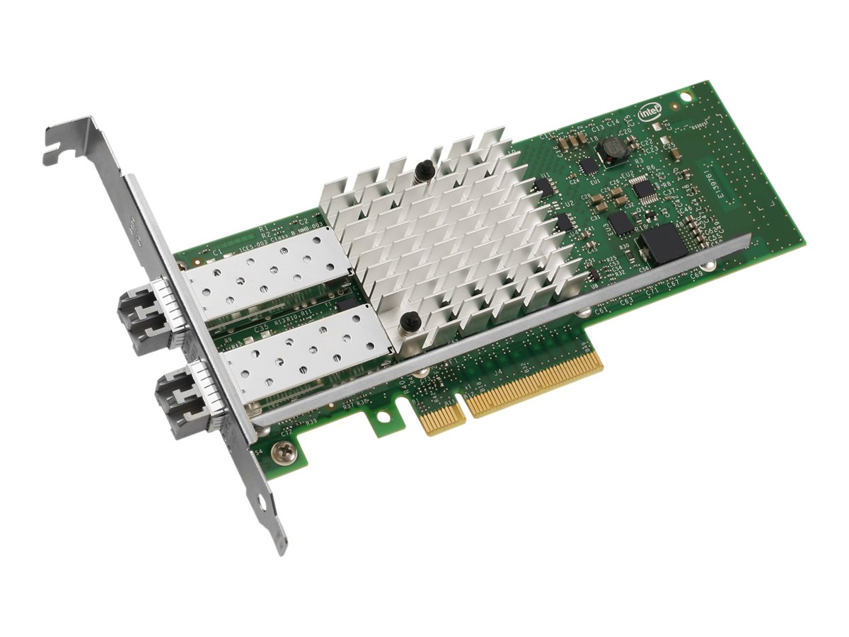 Intel Ethernet Converged Network Adapter X520-SR2 - Netzwerkadapter - PCIe 2.0 x8 Low-Profile - 10GBase-SR x 2