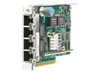 HPE 331FLR - Network adapter - PCIe 2.0 x4 - Gigabit Ethernet x 4 - for ProLiant DL180 Gen10, DL325 Gen10, DL380 Gen10, DL388 Gen10; SimpliVity 325 Gen10