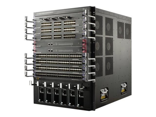 HPE FlexNetwork 10508 Switch Chassis - switch - managed - rack-mountable
