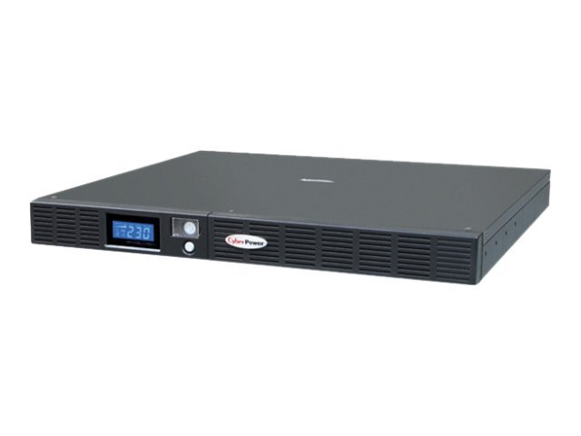 CyberPower Office Rackmount Series OR1000ELCDRM1U - USV - Wechselstrom 230 V - 600 Watt - 1000 VA 7 Ah - RS-232, USB