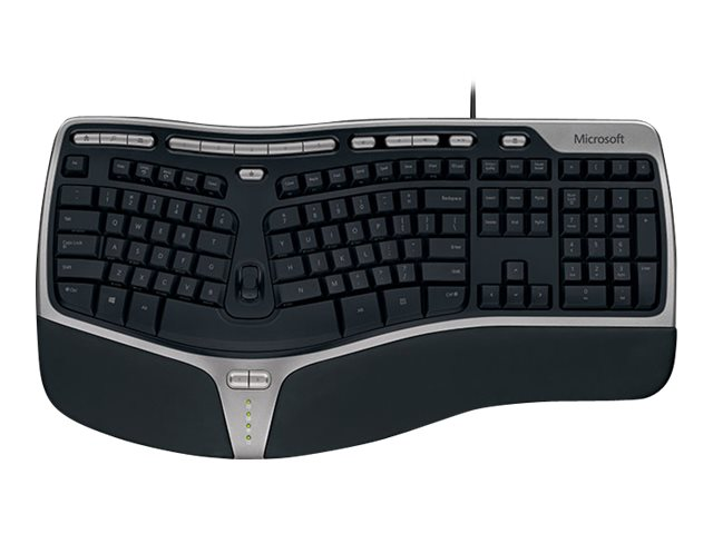 Microsoft Natural Ergonomic Keyboard 4000 for Business - keyboard - QWERTY - US - black