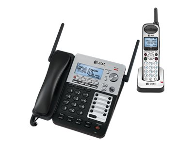 AT&T SynJ SB67138 Cordless phone answering system with caller ID/call waiting DECT 6.0