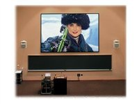 Draper ShadowBox Clarion 16:10 Format Projection screen 94INCH (94.1 in) 16:10 HiDef Gray