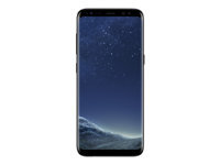 "Samsung Galaxy S8 - SM-G950F - smartphone - 4G LTE - 64 GB - microSDXC slot - TD-SCDMA / UMTS / GSM - 5.8"" - 2960 x 1440 pixels (570 ppi) - Super AMOLED - 12 MP (8 MP front camera) - Android - midnight black"