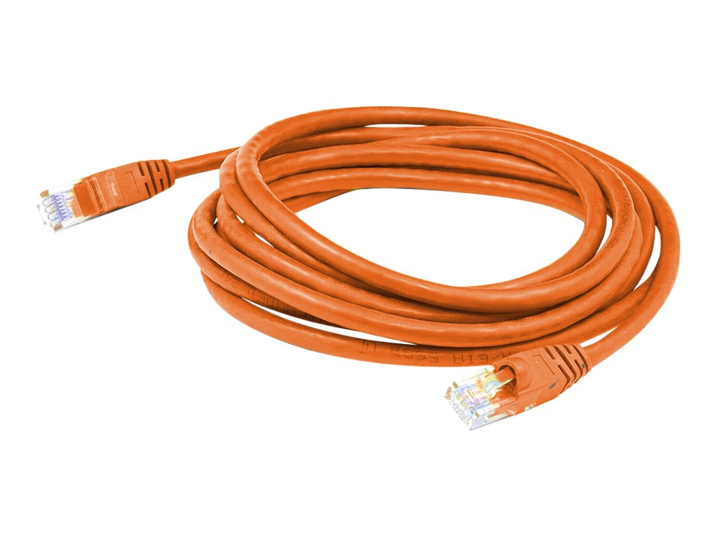 AddOn patch cable - 2.13 m - orange