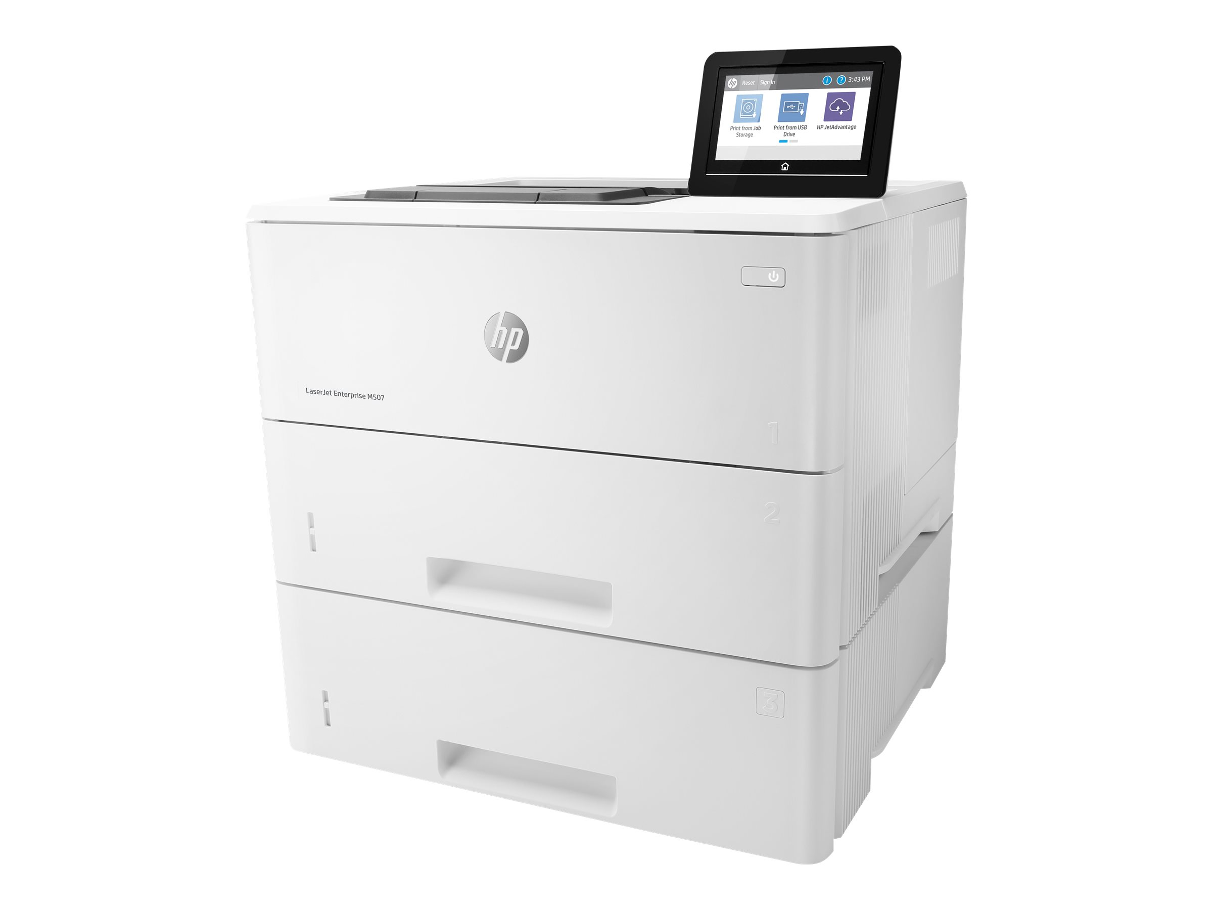 HP LaserJet Enterprise M507x - printer - monochrome - laser