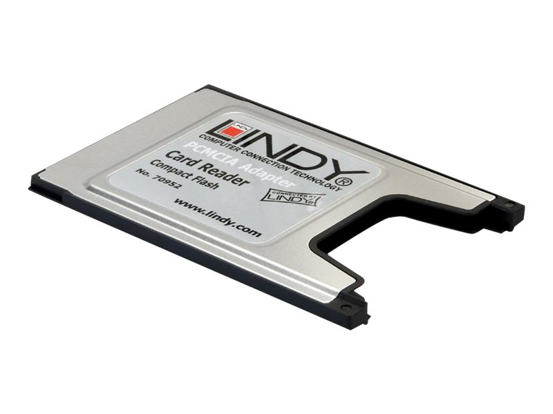 Lindy PCMCIA Compact Flash Adaptor Card - Kartenadapter (CF) - PC-Karte