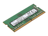 Lenovo - DDR4 - 8 GB - SO-DIMM 260-pin - 2400 MHz / PC4-19200 - 1.2 V - unbuffered - non-ECC - for ThinkCentre M910; ThinkPad E48X; E58X; L380; L380 Yoga; P52s; T480; T580; V330-14; V330-15