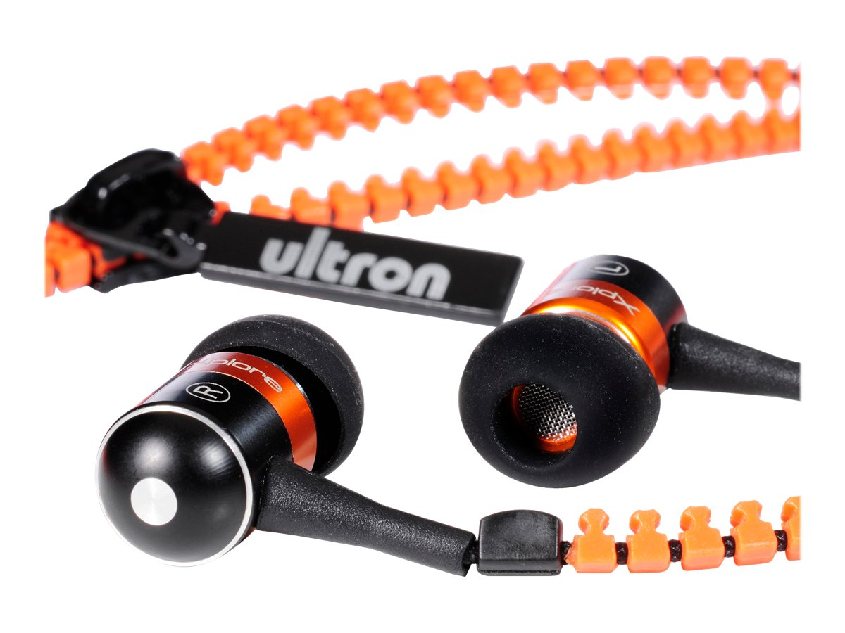 ultron Xplore - Ohrhörer - im Ohr - 3,5 mm Stecker - orange