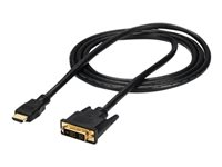 StarTech.com 6ft HDMI to DVI D Adapter Cable Bi-Directional