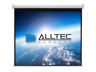 Alltec Screens Projection screen ceiling mountable, wall mountable 99INCH (98.8 in) 1:1