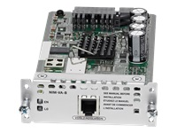 Cisco 1-port VDSL2/ADSL2+ over ISDN with Annex B/J - DSL modem - Network Interface Module (NIM) - for Cisco 4451-X; Integrated Services Router 4321, 4331, 4351, 4431