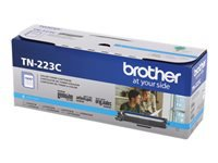 Brother TN-223C - Cyan - original - toner cartridge - for Brother DCP-L3550, HL-L3210, L3230, L3270, L3290, MFC-L3710, L3730, L3750, L3770