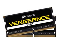 CORSAIR Vengeance DDR4  32GB kit 2666MHz CL18  Ikke-ECC SO-DIMM  260-PIN