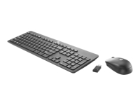 HP Slim - Keyboard and mouse set - wireless - 2.4 GHz - US - Smart Buy - for Chromebook 11 G7, 11A G6, 14A G5; Chromebook x360; EliteBook x360; ProBook x360