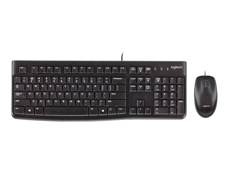 Logitech Desktop MK120 - Tastatur-und-Maus-Set - USB - International NSEA
