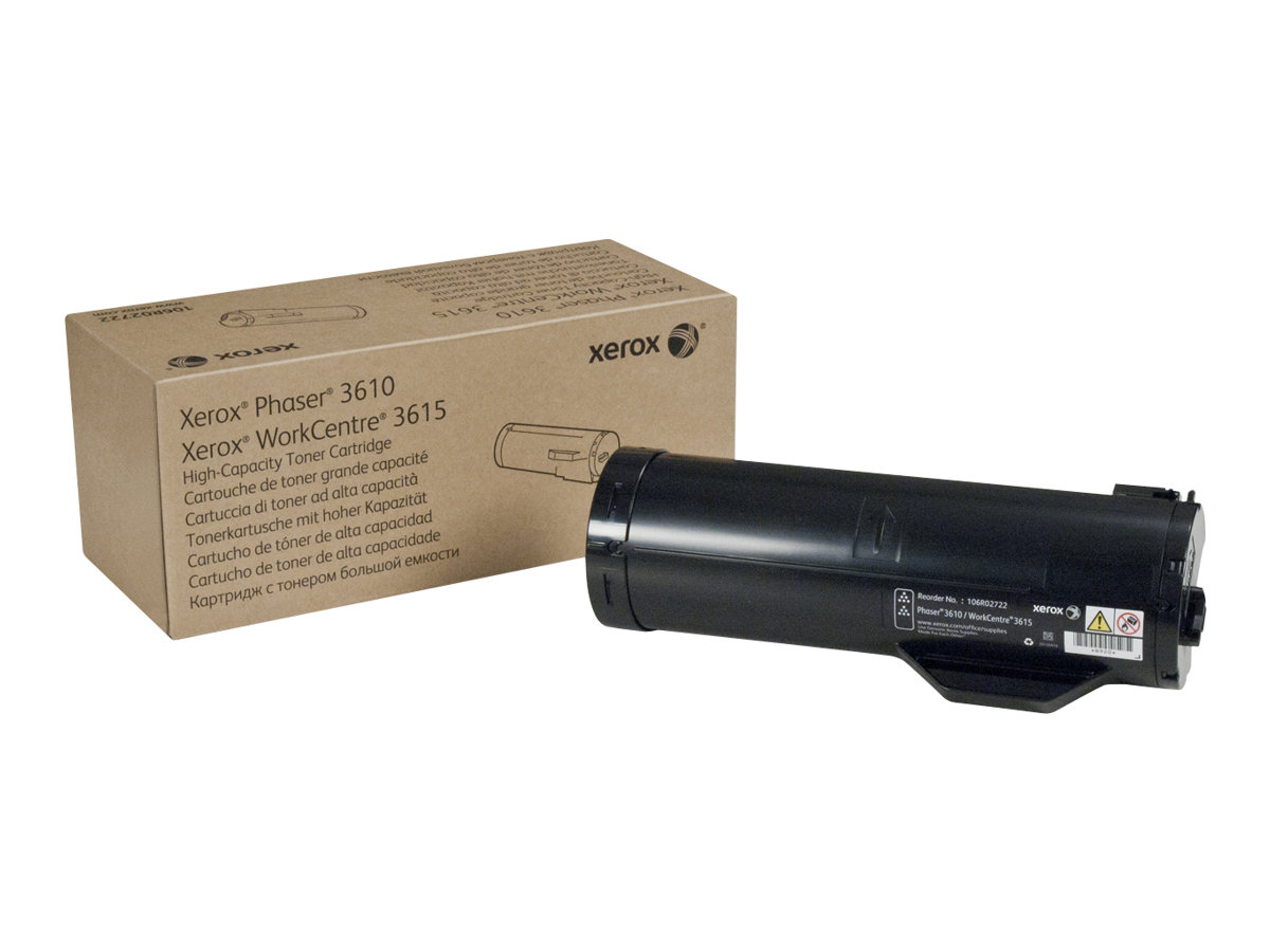 Xerox Phaser 3610 - High Capacity - black - original - toner cartridge