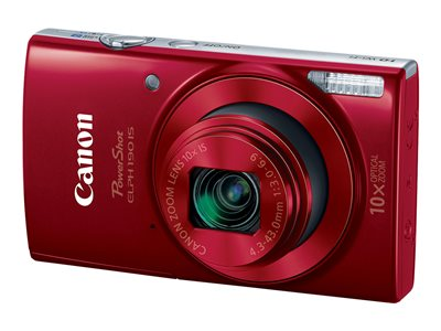 Canon PowerShot ELPH 190 IS Digital camera compact 20.0 MP 720p / 25 fps