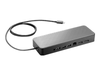 HP USB-C Universal Dock - Docking station - USB-C - GigE - 90 Watt - Smart Buy - US - for EliteBook x360; ProBook 430 G6, 44X G6, 45X G6; ProBook x360; Spectre x360