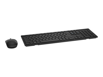 Dell KM636 - keyboard and mouse set - black - wireless