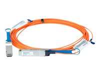 Mellanox LinkX 100Gb/s VCSEL-Based Active Optical Cables - Câble InfiniBand - QSFP pour QSFP - 15 m - fibre optique - SFF-8665/IEEE 802.3bm - actif, sans halogène